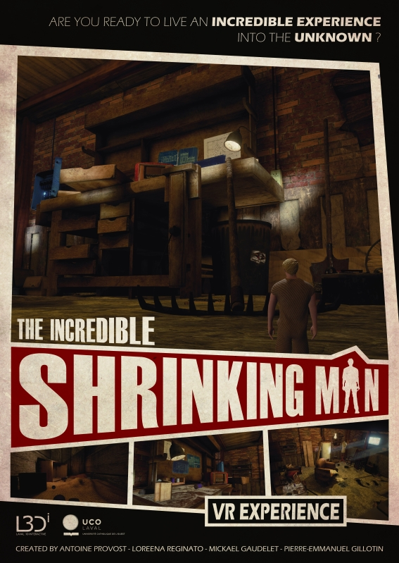 Affiche Shrinking Man web2